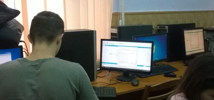 """Cel mai bun în meserie """"Operator pentru Suportul Tehnic al Calculatoarelor"""" anul II"""